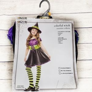 New in Package! Colorful Witch Children's …